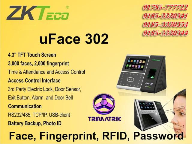 ZKTeco uFace302 Price in Bangladesh