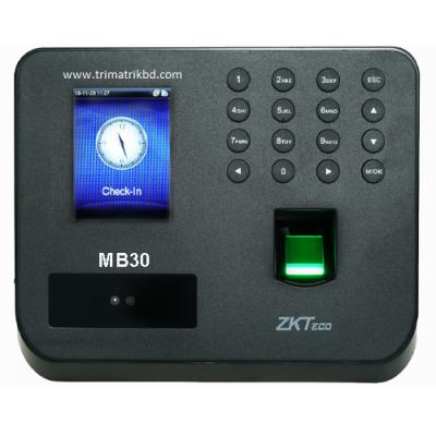 ZKTeco MB30 Face & Fingerprint Attendance & Access Control