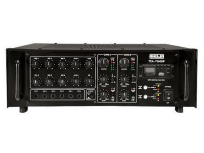 Ahuja TZA-7000DP 700 WATTS with Built-in Digital Player 2 ZONE PA MIXER AMPLIFIER